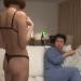 巨乳奥さんが卑猥な下着で旦那を誘惑!喧嘩の後の仲直り子作りセックスって最高だね